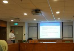 Pemaparan Materi oleh Prof. Khim Chye Gary ONG