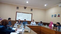 Diskusi Bersama Kepala BBWS, Konsultan Supervisi dan Ahli Geoteknik