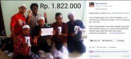 Deskripsi : Coin A Chance dropzone RSKO Jakarta I Sumber Foto : Andri M