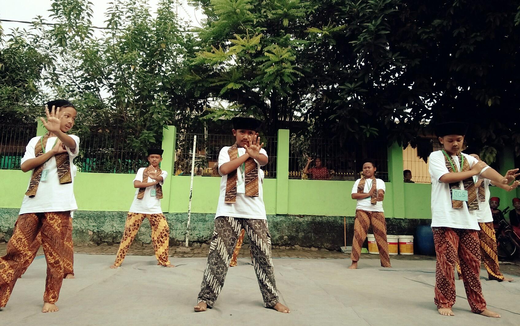 Tarian Betawi| Dokumentasi pribadi