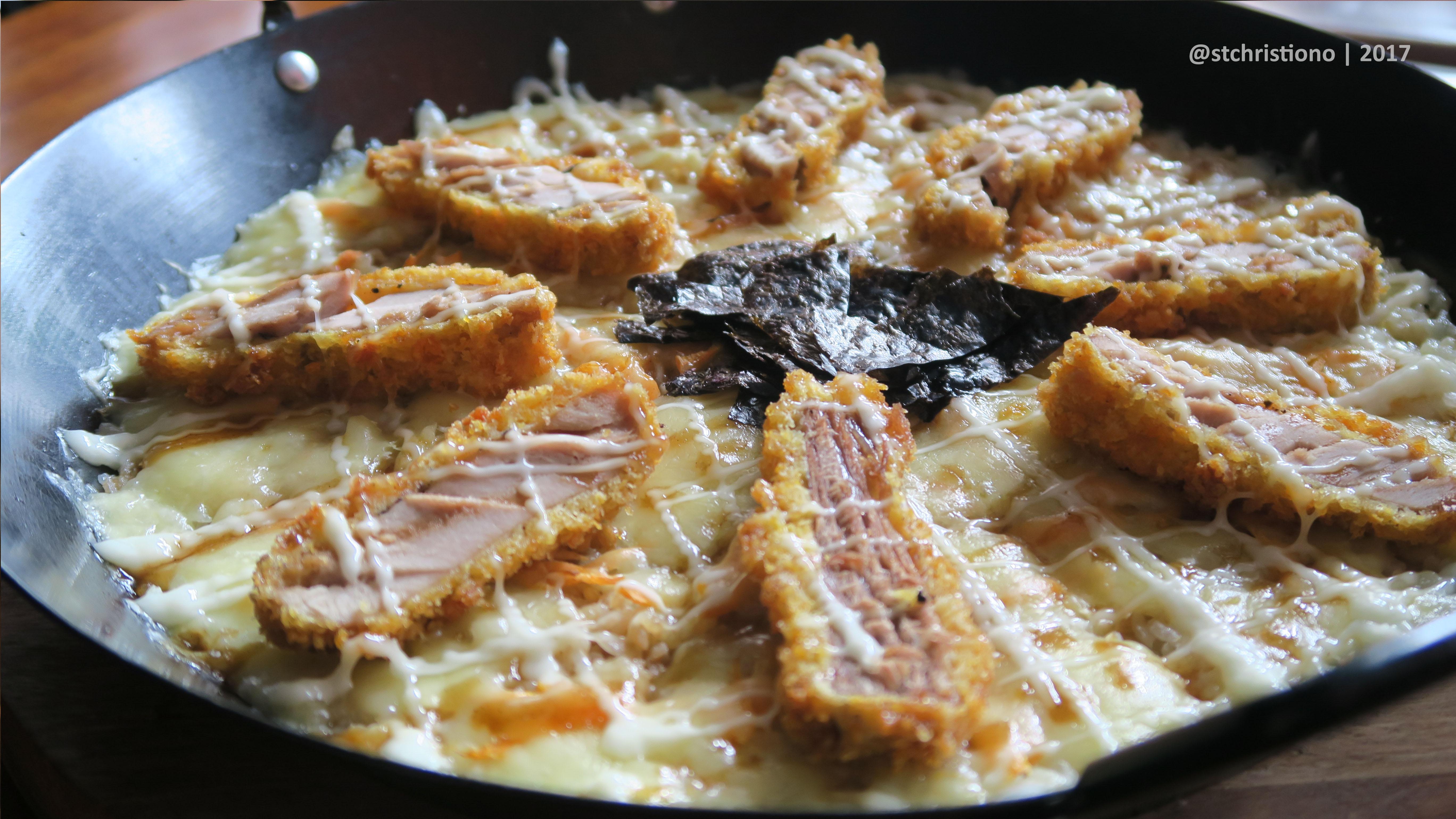 Rice Pizza Teriyaki Tuna