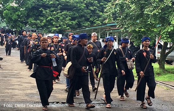 Rombongan Napak Tilas Prabu Siliwangi mulai bergerak