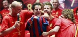 http://metro.co.uk/2010/07/13/arsenals-smiling-cesc-fabregas-wears-barcelona-shirt-at-world-cup-party-445693/