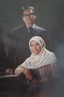 Pak Aming dan amrhumah istri / dokumentasi pribadi