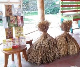 Bibit padi varietas lokal dan produk Gasol Organik / dokumentasi pribadi