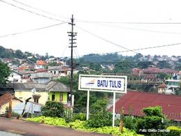 Batutulis, salah satu kawasan bersejarah di Kota Bogor