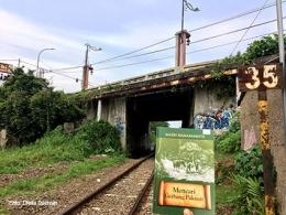Di bawah Jembatan Bondongan Jalan Pahlawan Bogor. Apakah ini dulu lokasi gerbang Pakuan?