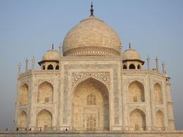 Bangunan Utama Taj Mahal (Dokpri)