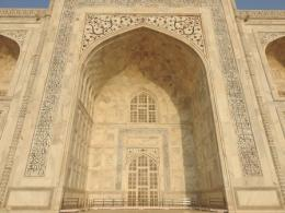 Salah Satu Pintu Taj Mahal (Dokpri)