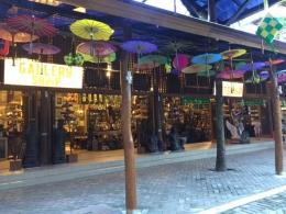 Gallery Seni yang identik dengan warna-warni payung. Dokumentasi pribadi