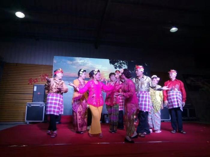 Foto: Pertunjukan Seni Warga Kampung Bali Pada Sebuah Acara