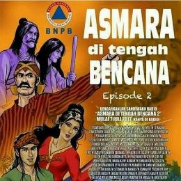 Ilustrasi ADB Episode ke-2. Gambar dokumentasi BNPB.