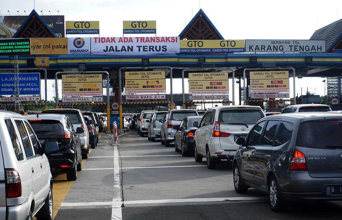 Gerbang tol otomatis | Foto: ANTARA