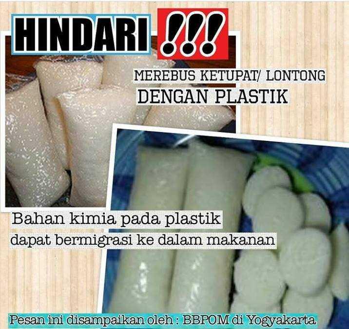 Informasi pengolahan makanan. Doc: IG BBPOM Yogyakarta