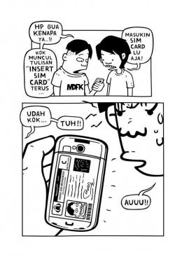 Gambar 4: komik lelucon || provoke-online.com