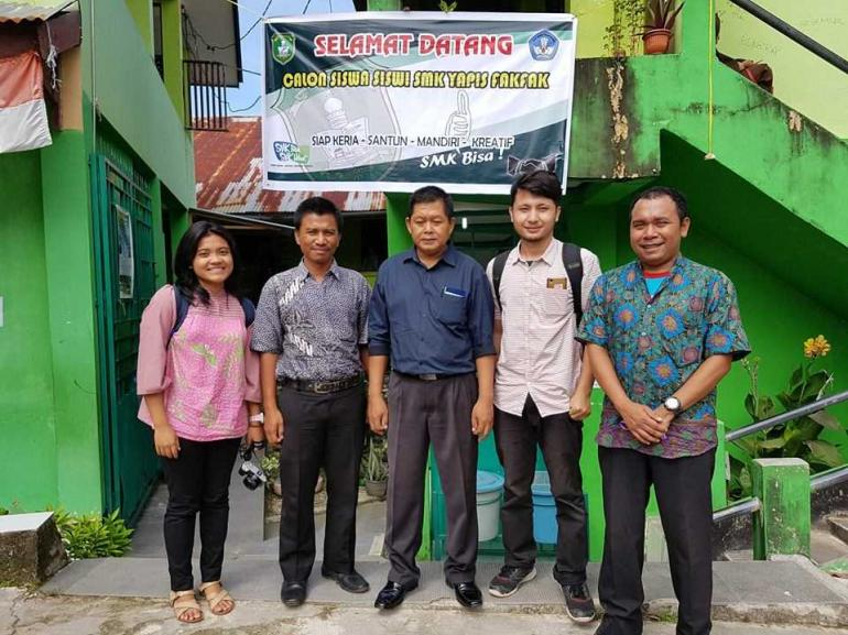Tim Kitong Bisa Saat Assesment Untuk Siswi SMK di Fak-fak