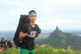 View Bukit Serelo/bukit jempol dari bukit besar|Dokumentasi pribadi