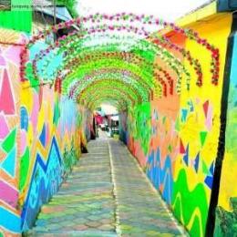 Lorong Kampung Jodipan ( dok google)