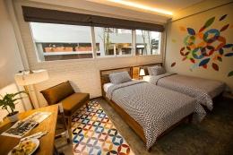 Interior kamar Hotel Lokal (dok.google)