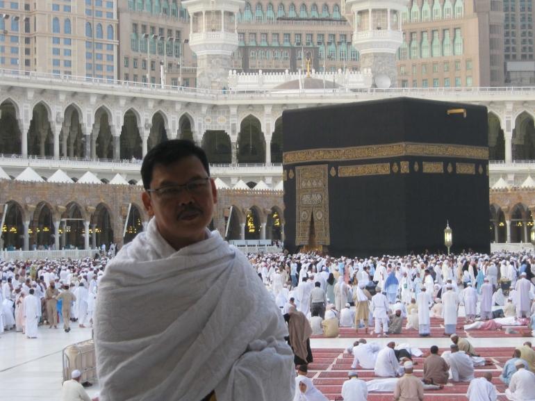 Ilustrasi. Jemaah umrah tengah memenuhi Masjidil Haram. Foto   Dokumen Pribadi