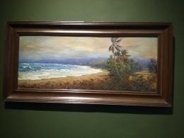 Salah satu lukisan yang terpampang di pameran (dokpri)