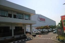 Pabrik Susu Sarihusada di Klaten, Jawa Tengah, merupakan pabrik susu terbesar se-Asia Tenggara.   Dokumentasi Pribadi