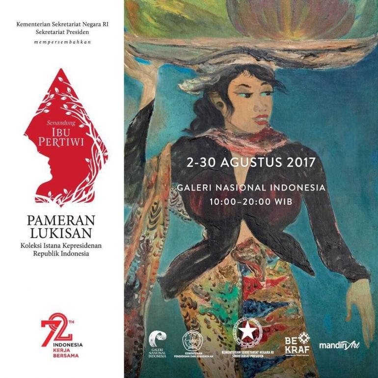Pameran Lukisan Senandung Ibu Pertiwi (dok. galeri-nasional.co.id)