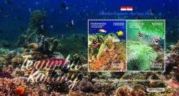 Souvenir sheet (lembar kenangan) prangko Indonesia-Singapura 2017. (Foto: Ditjen PPI, Kominfo)