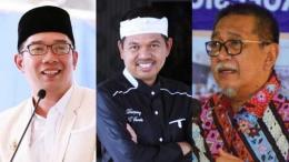 Ridwan Kamil, Dedi Mulyadi dan Deddy Mizwar, Source : kumparan.com