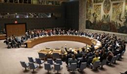 Dewan Keamanan PBB secara bulat mengeluarkan resolusi dan sangsi baru terhadap KoreaUtara. Photo:Seth Wenig/AP