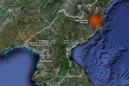 Lokasi uji coba bom hidrogen yang memicu dikeluarkannya sangsi terbaru PBB. Sumber: www.abc.net.au