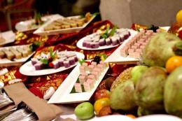 Aneka pilihan dessert di Amnaya Resort Kuta / dap