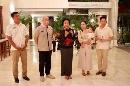 Penyampaian kalimat sambutan. Ki-Ka: Made Aryana (Corp GM), Jeffrey Wibisono (GM), Yoke Darmawan, Suhartati Ting (Director) dan Halim Soetanto (Director) / dap