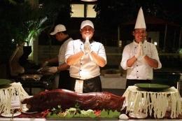 Hidangan khas Bali, Babi Guling / dap