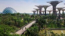 Garden by The Bay di Singapore yang berhasil memasukan konsep arsitektur modern dengan konsep tradisional kebun raya. Photo: www.gardensbythebay.com.sg