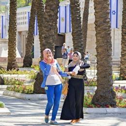Arab Israeli. Sumber: Instagram.com/sharongabay2