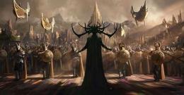 Sosok Hela di film Thor penampilannya mirip Maleficent (sumber: IMDB)