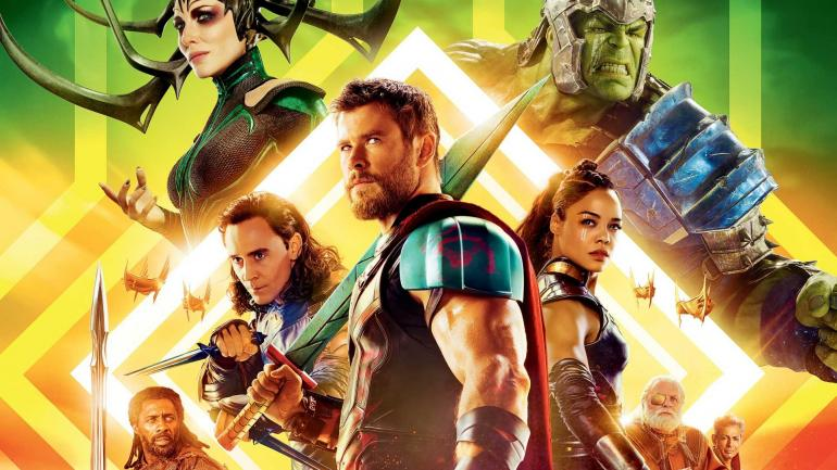 Thor dan kawan-kawan siap mencegah ragnarok (kiamat) di Asgard (sumber: wallpapersite.com)