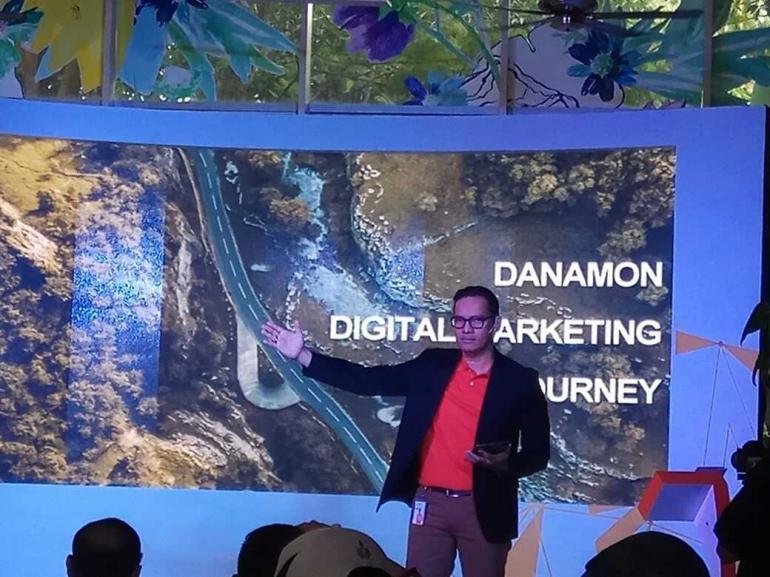 Toni Darusman, Chief Marketing Officer Danamon (dokpri)