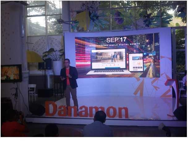 Deskripsi : Launching Coorperate Website & restrukturisasi akun social media Bank Danamon I Sumber Foto : Andri M