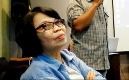 Maria Margaretha Hartiningsih, aktivis kemanusiaan dan mantan wartawati Kompas. (Foto: Gapey Sandy)