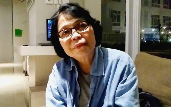 Maria Margaretha Hartiningsih, mantan wartawati Kompas. (Foto: Gapey Sandy)