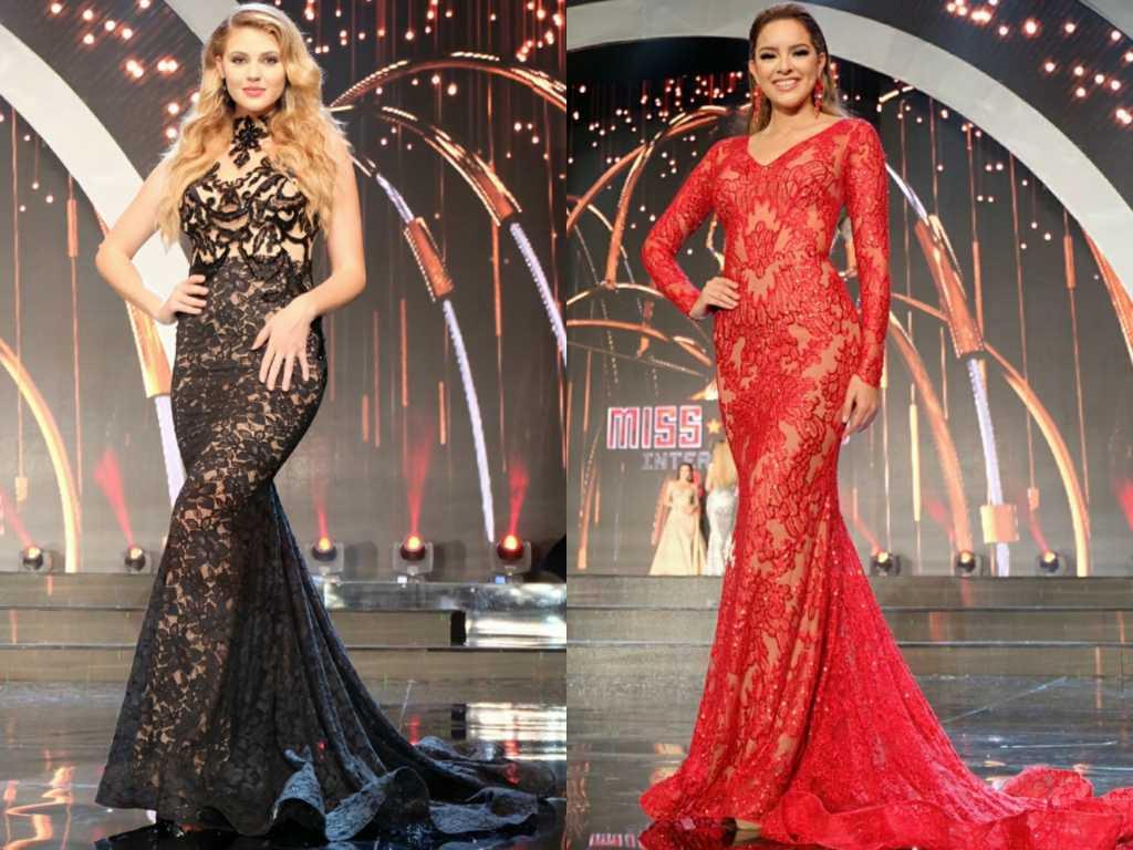 Madison Sarra (kiri), Runner-Up 3 dan Michelle Leonn (kanan) Runner-Up 4 Miss Grand International 2016. (Sumber: Instagram/anazofficial)