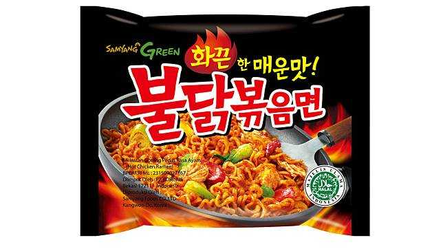 Samyang - Produk ramen Korea yang telah mendapat sertifikasi halal MUI (dok heraldcorp.com via today.line.me)