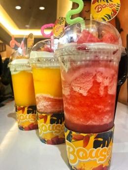 Bouse minuman jus buah tropical. (dok.Pribadi)