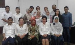 Foto bersama para pegawai Kementerian PU dan Perumahan Rakyat (dok.pribadi)