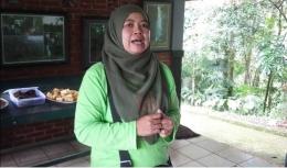 Badiah, Kepala Bidang Wilayah Bogor Balai Besar Taman Nasional Gunung Gede Pangarango (dokpri)