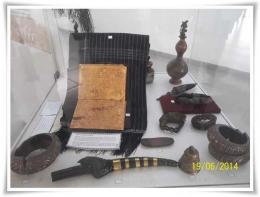 Koleksi Pustaha Laklak dan benda budaya lain (Dokpri)