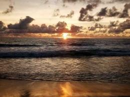 Sunset di Ujung Genteng (Dokpri)