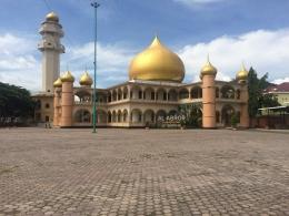 Masjid Raya Al-Abror Kota Padangsidimpuan (Dok. Rodame)